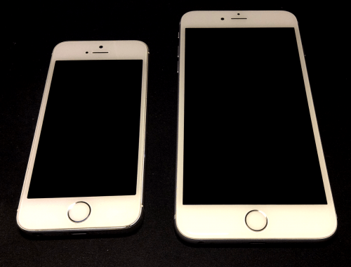 iPhone 6 plus og iPhone 5s